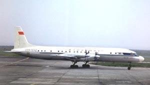 Фото самолёта Ил-18