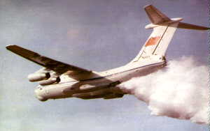 Фото самолёта Ил-76П