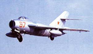 Фото самолёта МиГ-17