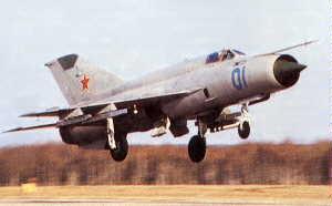Фото самолёта МиГ-21