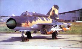 Фото самолёта МиГ-21И