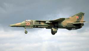Фото самолёта МиГ-27