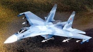 Фото самолёта Су-27