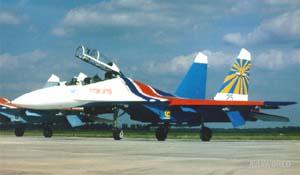 Фото самолёта Су-27УБ