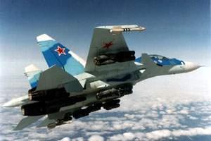 Фото самолёта Су-30