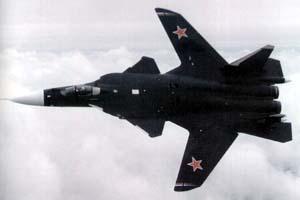 Фото самолёта Су-47