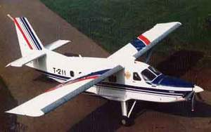 Фото самолёта Т-211