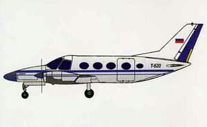 Фото самолёта Т-620
