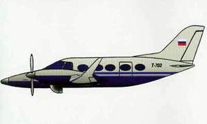 Фото самолёта Т-702