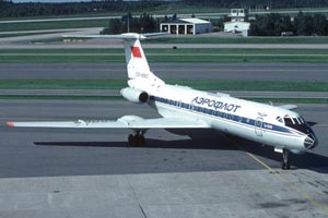 Фото самолёта Ту-134A