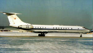 Фото самолёта Ту-134Ш