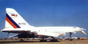Фото самолёта Ту-144