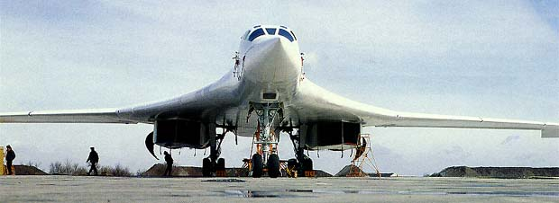 Фото самолёта Ту-160
